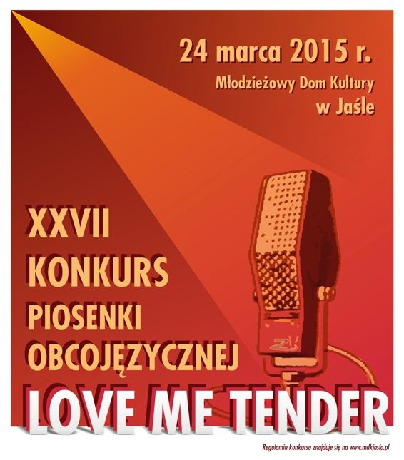 plakat LOVE ME TENDER