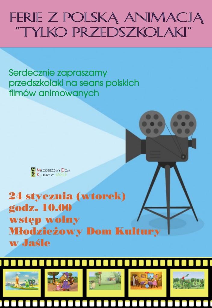 plakat filmy animowane