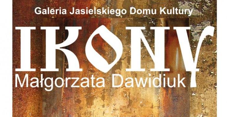 Ikony Małgorzaty Dawidiuk w Galerii JDK