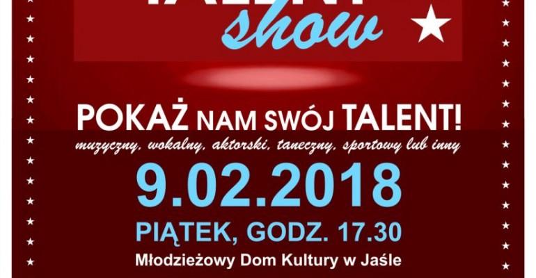 MDK w Jaśle zaprasza do udziału w Talent Show!
