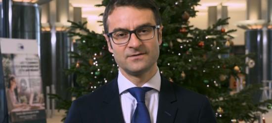 Życzenia Świąteczne europosła Tomasza Poręby dla mieszkańców Podkarpacia (FILM)