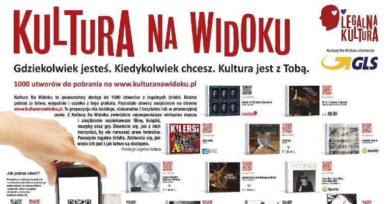 """""""Kultura na widoku""""- 1000 utworów do pobrania"""