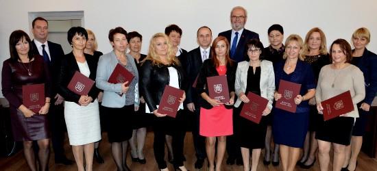 Nagrody Burmistrza Miasta Jasła dla nauczycieli