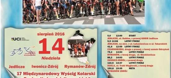 """XVII edycja Międzynarodowego Wyścigu Kolarskiego """"Puchar Uzdrowisk Karpackich"""""""