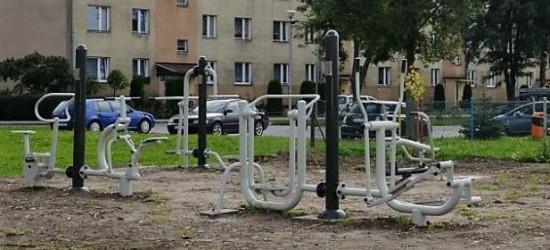 Nowe siłownie plenerowe dla mieszkańców (ZDJĘCIA)