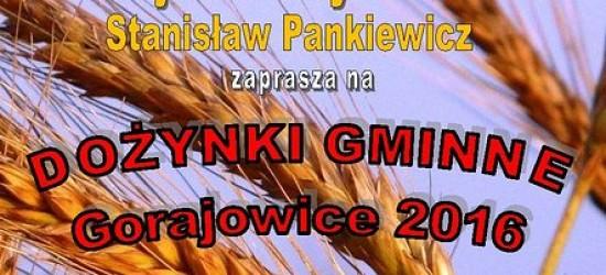Dożynki Gminne w Gorajowicach