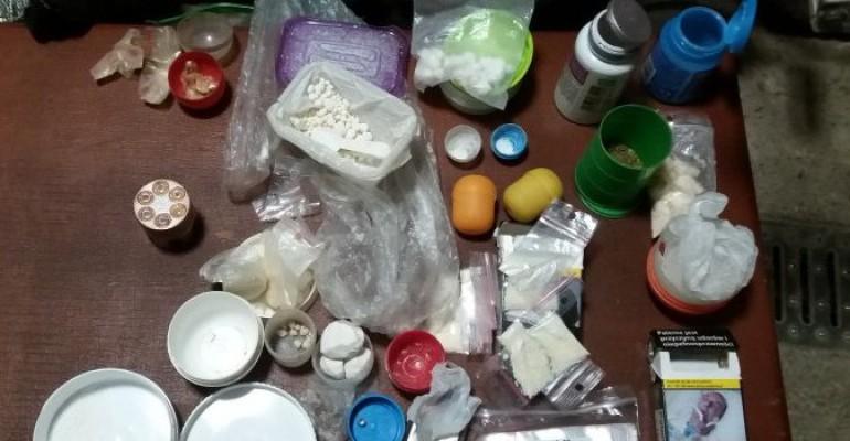 Marihuana i amfetamina w piwnicy. 31-latek wpadł w ręce policji (ZDJĘCIE)
