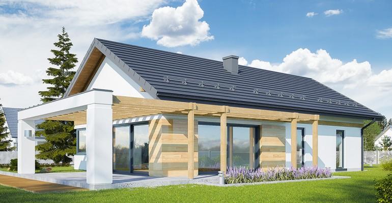 """""""Szklane domy"""", a energooszczędność! Gotowe projekty domów z dużymi przeszkleniami"""
