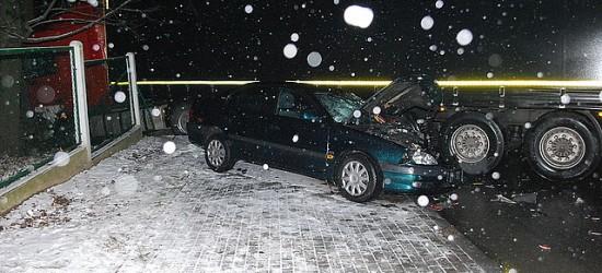 Dwa wypadki, trzy kolizje. Deszczowy dzień na drogach powiatu jasielskiego