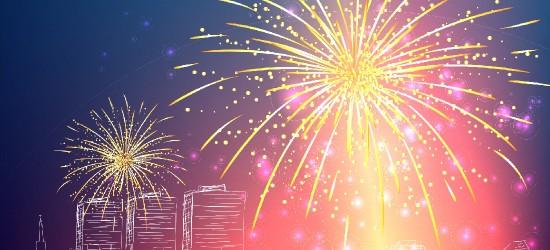 Powitanie Nowego Roku w Jaśle