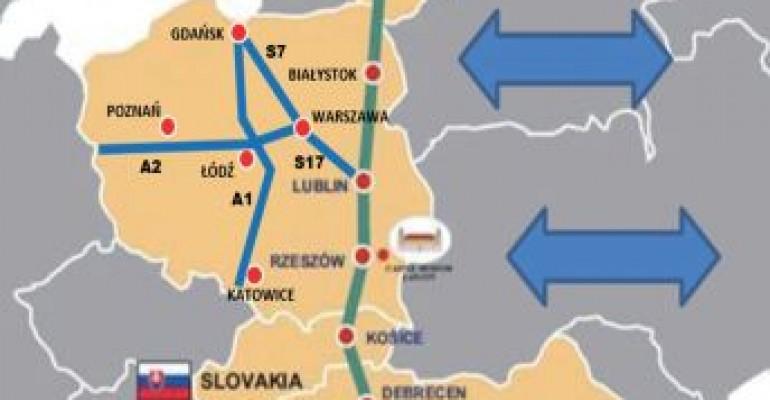 Rząd przeznacza 21 mld zł na budowę szlaku Via Carpathia. Poręba: To historyczna decyzja