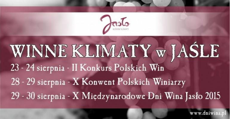 Winne klimaty. Święto wina i winiarzy w Jaśle