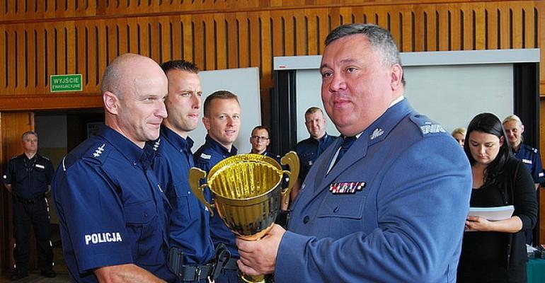 Dzielnicowy z Komisariatu Policji w Nowym Żmigrodzie stanął na podium (ZDJĘCIA)