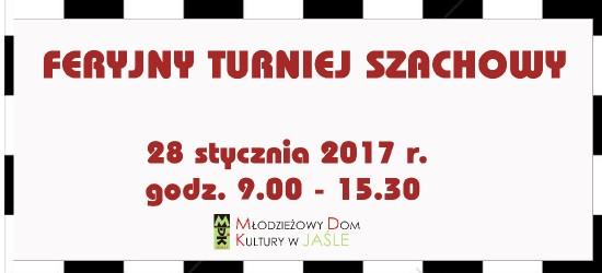 MDK w Jaśle zaprasza na Feryjny Turniej Szachowy
