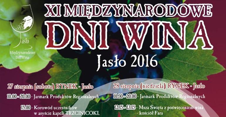 XI Międzynarodowe Dni Wina w Jaśle