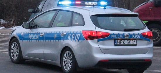 JASŁO24.PL: Pechowa środa dla kierowców. Zatrzymane prawo jazdy, wypadki, potrącenie pieszej