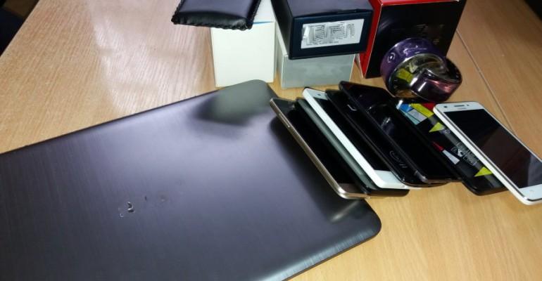 Ukradł pieniądze, telefony komórkowe i laptop. Wpadł w ręce policji (ZDJĘCIA)