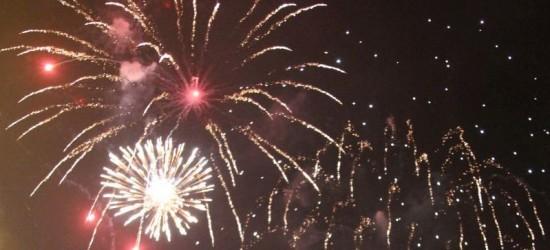 Jasło powitało Nowy Rok w blasku fajerwerków