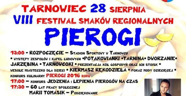 Gwiazdą wieczoru na VIII Festiwalu Smaków Regionalnych Pierogi będzie Michał Szpak