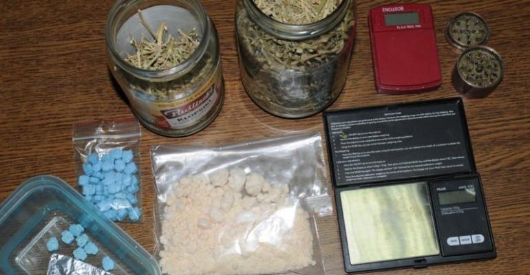 49-latek z Jasła odpowie za posiadanie narkotyków