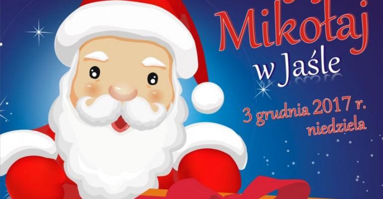 Święty Mikołaj przybędzie do parku miejskiego w Jaśle