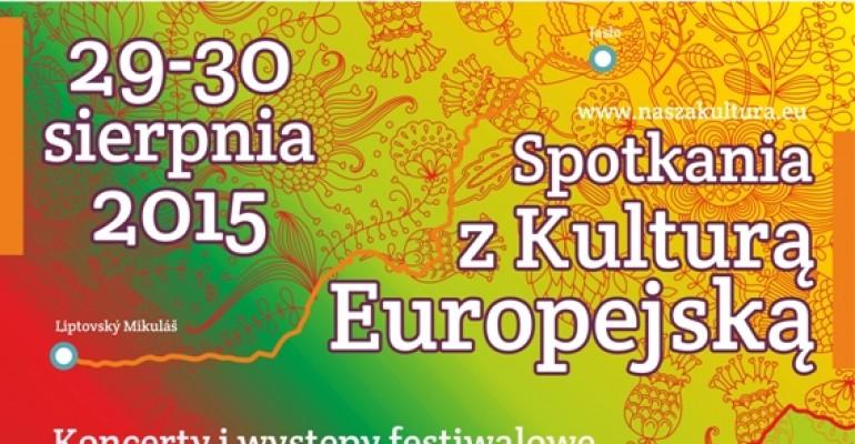 Spotkania z kulturą europejską na jasielskim rynku