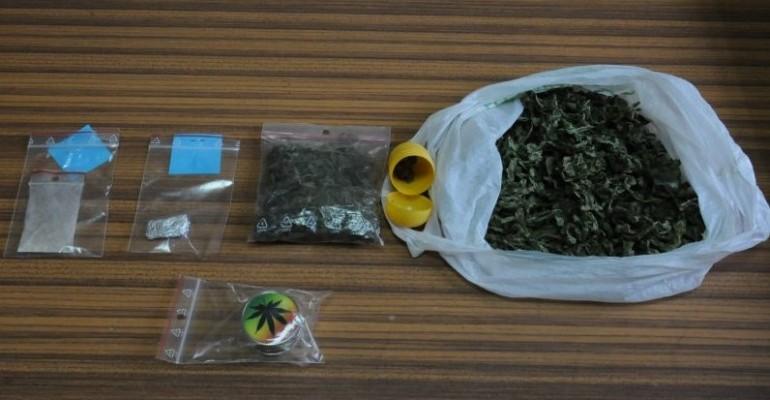 Marihuana i amfetamina w domu 23-latka. Grozi mu do 3 lat pozbawienia wolności